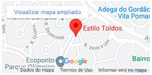 Localização da Estilo Toldos